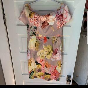 ASOS of  shoulder  dress